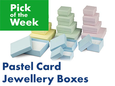 Pick of the Week: Pastel Card Jewellery Boxes
