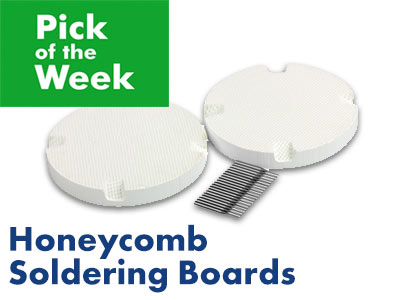 Pick of the Week: Honeycomb Soldering Boards