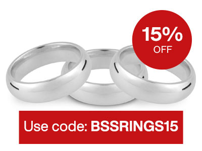 15% OFF Silver Ring Blanks – Use Code: BSSRINGS15
