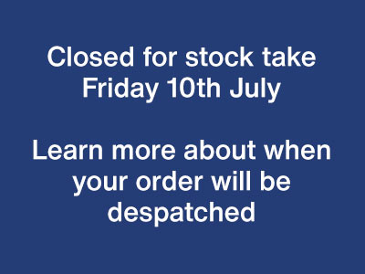 Closed for Stock Take - Learn More