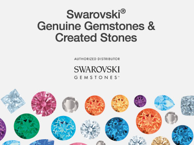New to Cooksongold: Swarovski Gemstones™