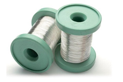Sterling Silver Round Wire 0.60mm, Half Hard