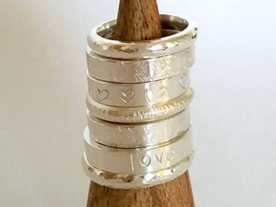 Project: Decorating Cooksongold's Ring Blanks