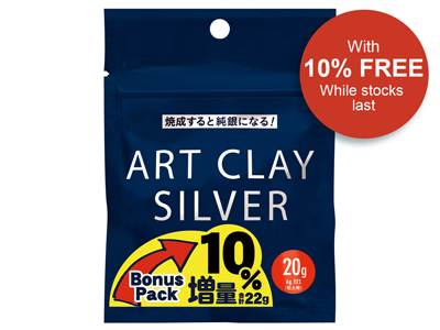 Art Clay Silver With 10% Free