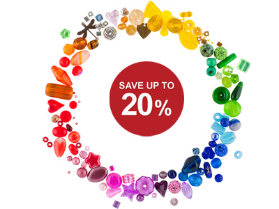Brilliant Bead Bargains - Up to 20% Off