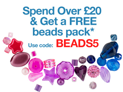 FREE Bead Pack When You Spend Over £20*