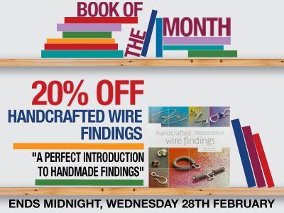 20% OFF Handcrafted Wire Findings