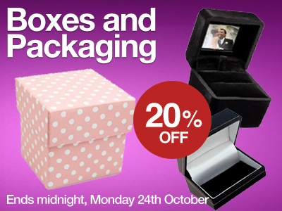 Order Boxes and Packaging with 20% OFF
