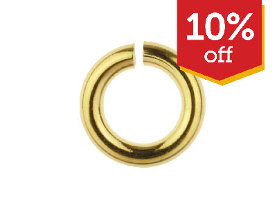 10% OFF Gold Filled Jump Rings