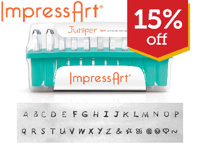 15% OFF Letter and Number Stamps