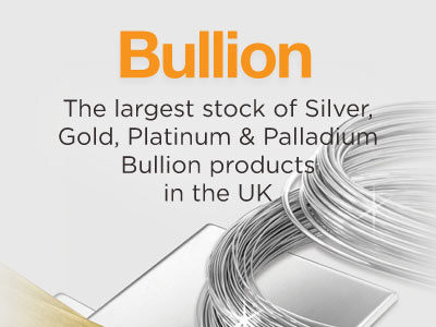 View Our Extensive Bullion Range