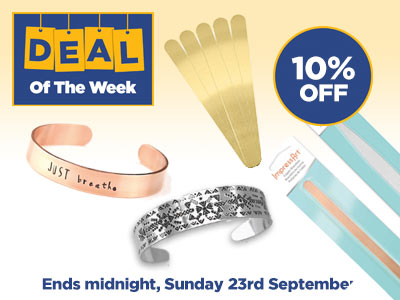 Deal of the Week: 10% OFF ImpressArt Cuff Bangles
