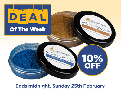 Deal of the Week: 10% OFF Mica Powder