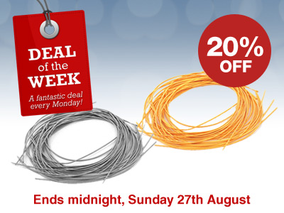 Deal of the Week: 20% OFF all Gimp Wire