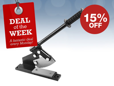 15% OFF Guillotine Shear & FREE DELIVERY