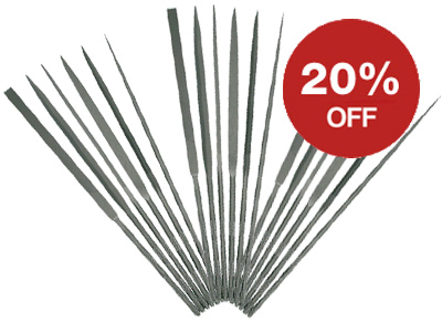 Deal of the Week - 20% OFF Needle Files