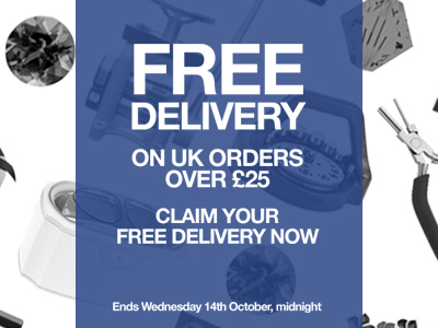 Free Delivery on UK orders over £25