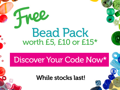 Free Beads! Use Your Code Now!
