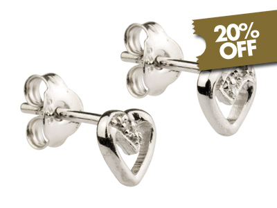 20% Off Silver Earrings