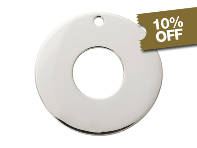 10% OFF Sterling Silver Blanks