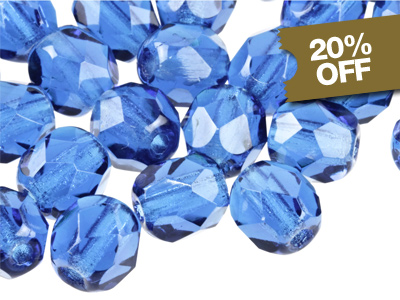 20% OFF Glass Beads