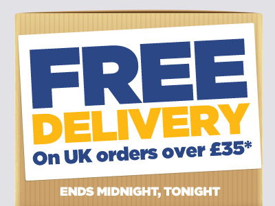 FREE DELIVERY - Ends Midnight, Tonight