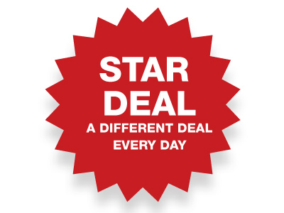 Star Deal: See What's On Offer Today