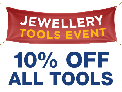 10% OFF ALL Jewellery Tools