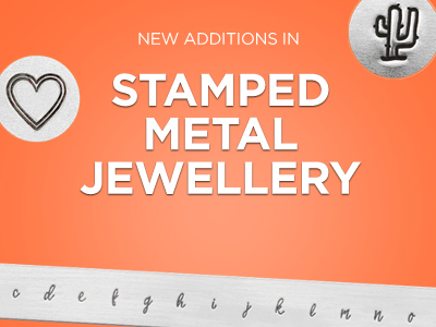 New Stamped Metal Jewellery