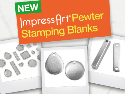 Brand New Pewter Blanks for Metal Stamping