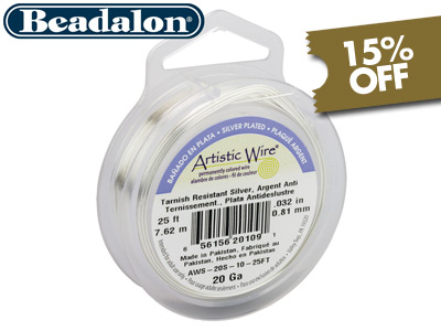 15% Off Artistic Wire