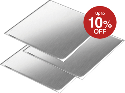 Up to 10% Off Sterling Silver Sheet