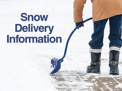 Snow Delivery Information