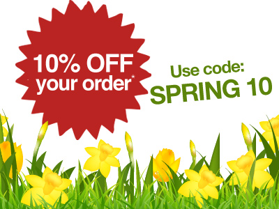 10% OFF Your Order This Weekend