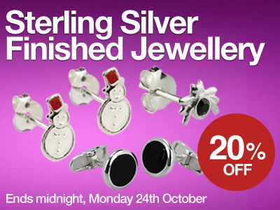 Save 20% OFF Finished Jewellery