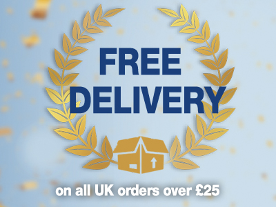 Free Delivery on ALL UK Orders* Ends 3rd October