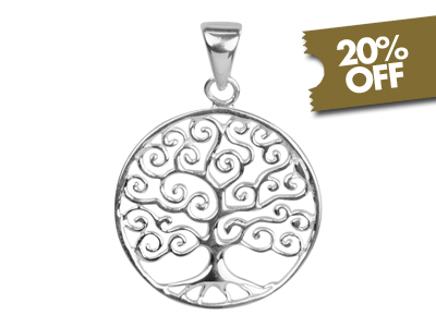 20% Off Sterling Silver Pendants