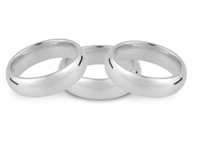20% OFF Sterling Silver Court Profile Blanks