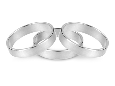 20% OFF Flat Sterling Silver Ring Blanks