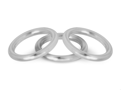 20% OFF Sterling Silver Halo Profile Rings