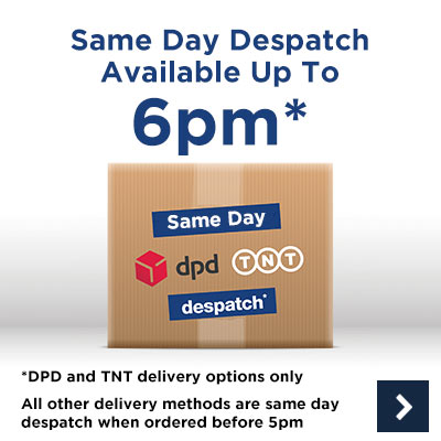 Same Day Despatch available before 6PM Monday to Friday*