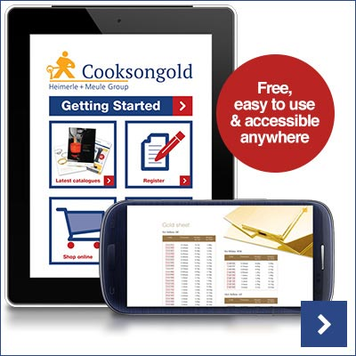Download Your FREE Cooksongold Catalogue App