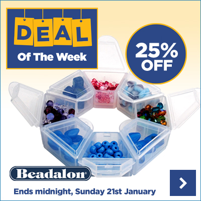Save 25% OFF the Beadalon Storage Ring