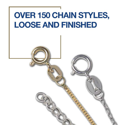 Over 150 Chain Styles