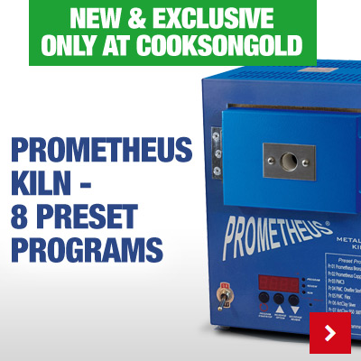 Exclusive to Cooksongold - Pre-Programmed Prometheus Kiln