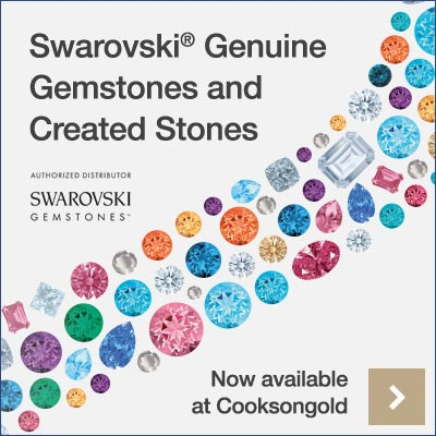 New to Cooksongold: Swarovski® Genuine Gemstones and Created Stones