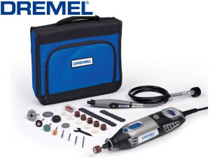 Dremel 4000 and Flex Shaft with Accessory Kit